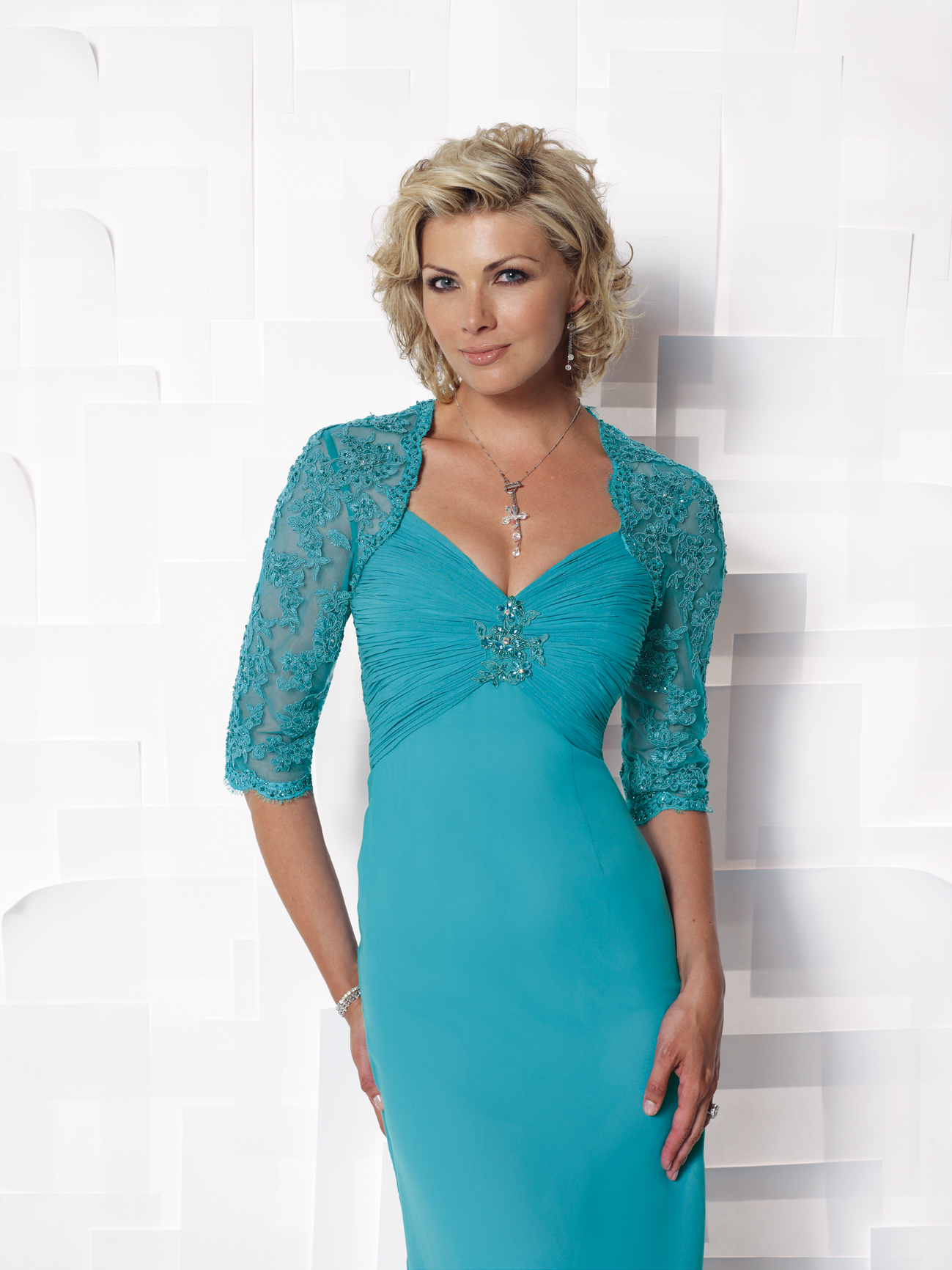 Mature Woman Dress  Designer Dresses-7806